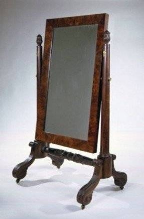 Cheval Dressing Mirror – Foter Inside Free Standing Table Mirrors (#9 of 30)
