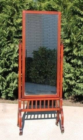 Cheval Dressing Mirror – Foter With Victorian Standing Mirrors (View 18 of 30)