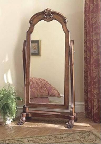 Cheval Mirror Pertaining To Vintage Free Standing Mirrors (#19 of 30)
