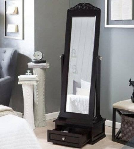 Cheval Mirror This Large Full Length Mirror Is A Free Standing Regarding Ornate Free Standing Mirrors (#14 of 30)