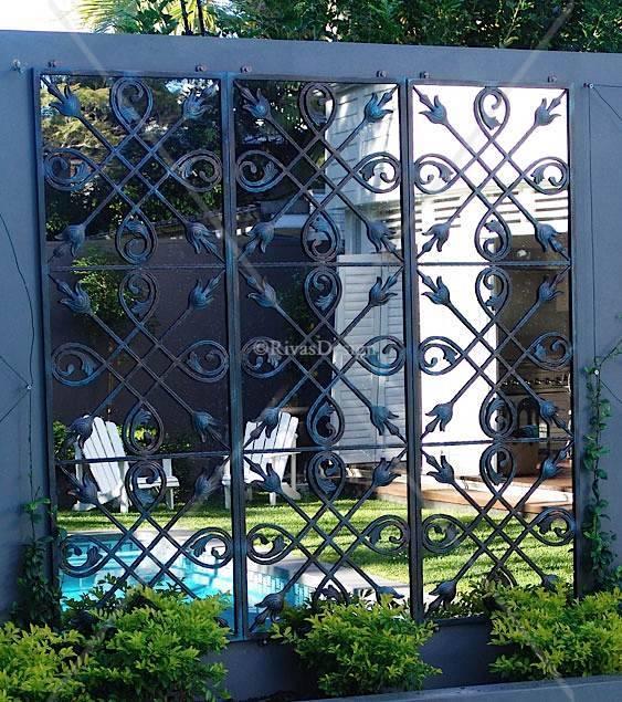 Chic Outdoor Garden Wall Mirrors 17 Best Ideas About Garden Regarding Outside Garden Mirrors (#13 of 15)