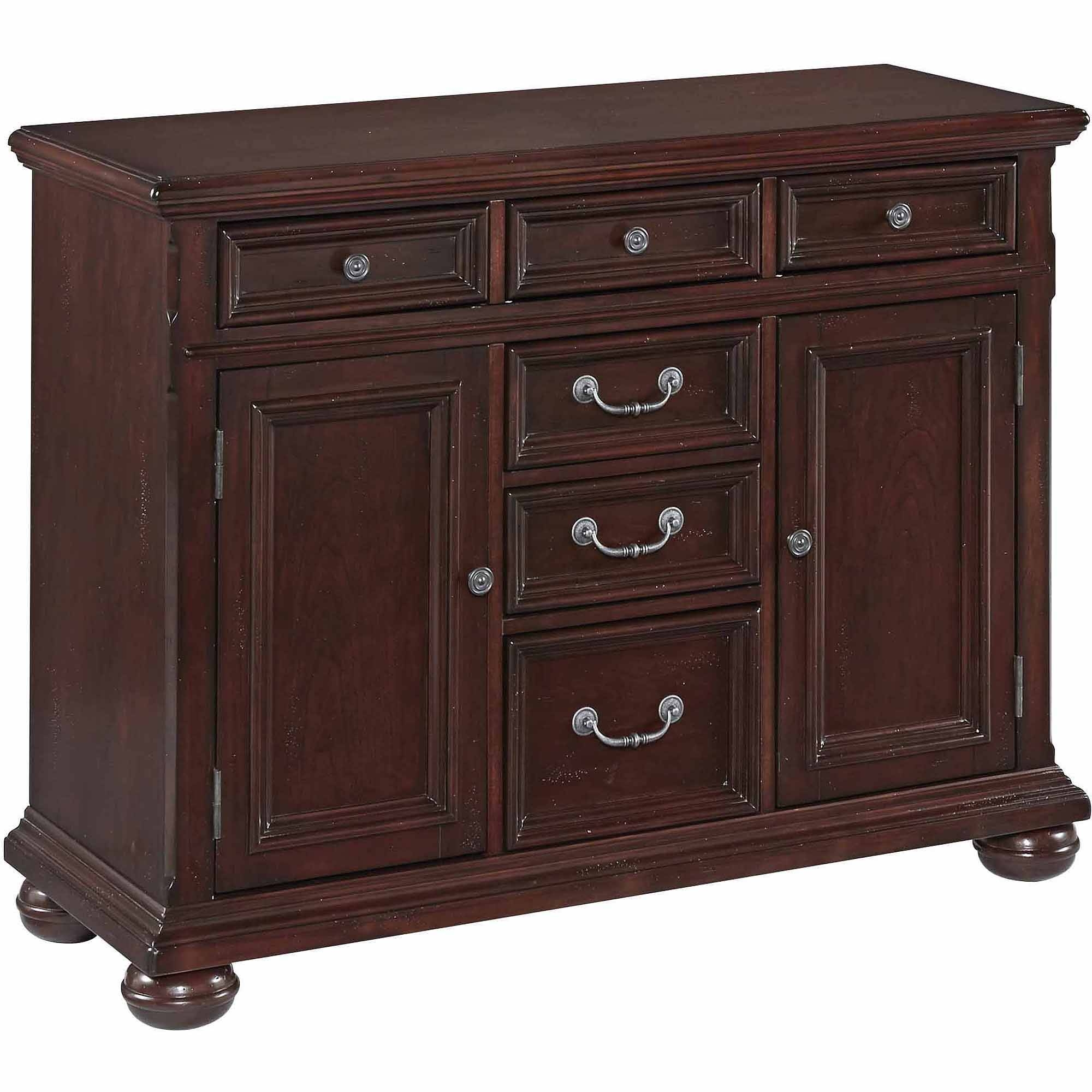 China Cabinet & Buffet Furniture : Kitchen & Dining Furniture For Small Dark Wood Sideboard (#1 of 20)