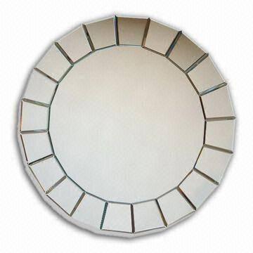 China Round Mosaic Wall Mirror From Qingdao Manufacturer: Qingdao In Round Mosaic Wall Mirrors (#7 of 15)