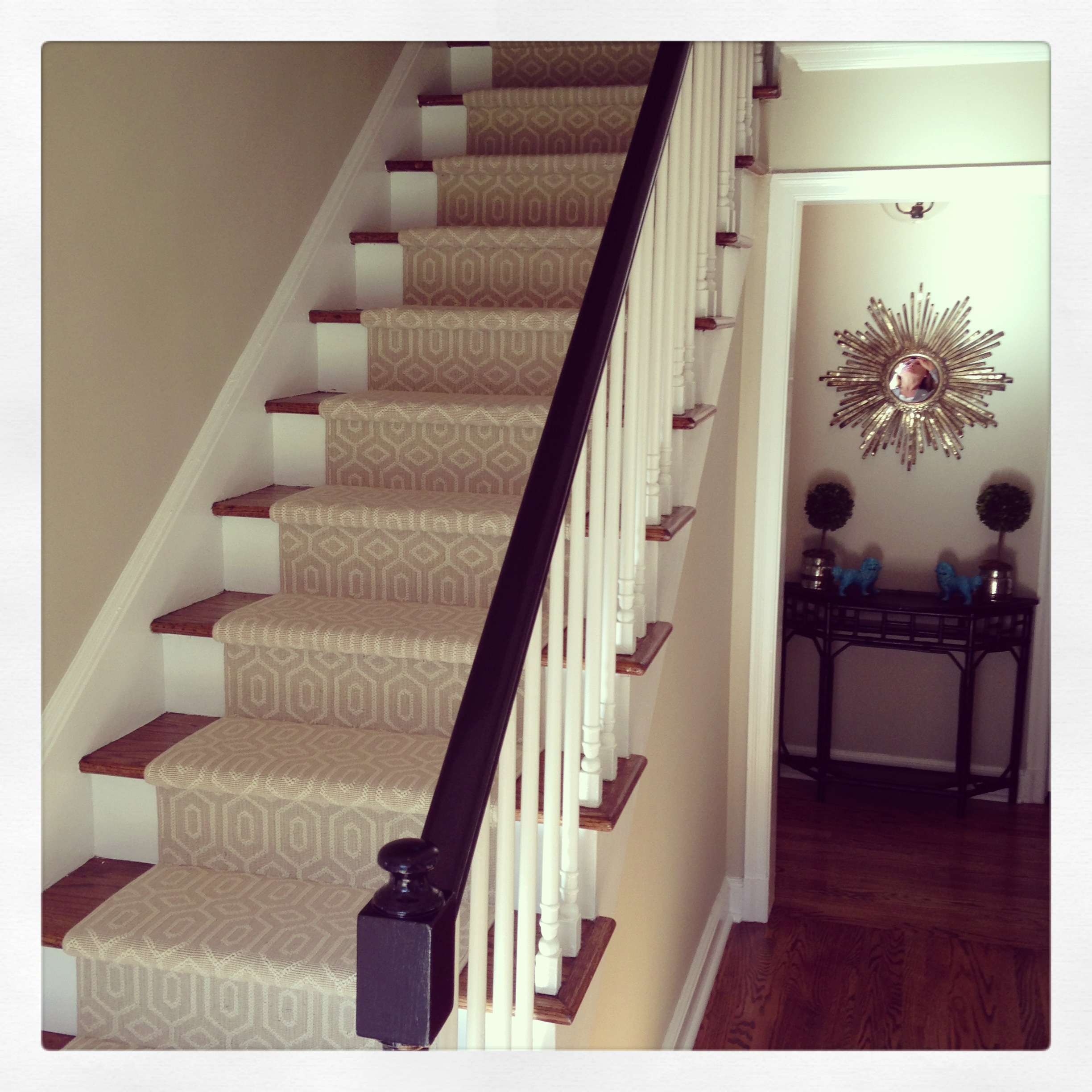 20 Collection Of Individual Stair Tread Rugs