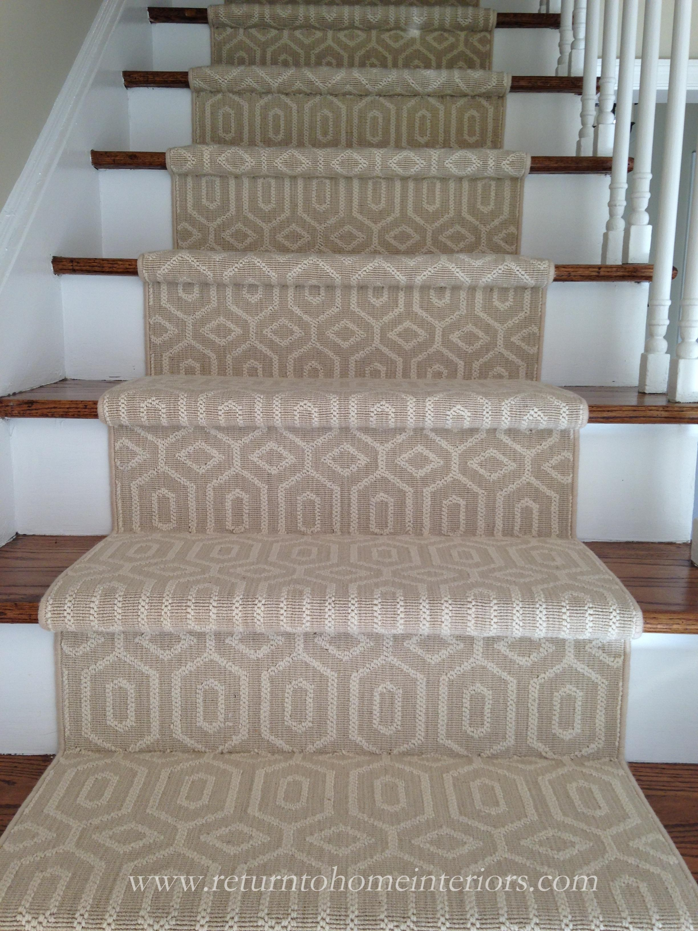 Choosing A Stair Runner Some Inspiration And Lessons Learned Inside Wool Stair Rug Treads (#4 of 20)
