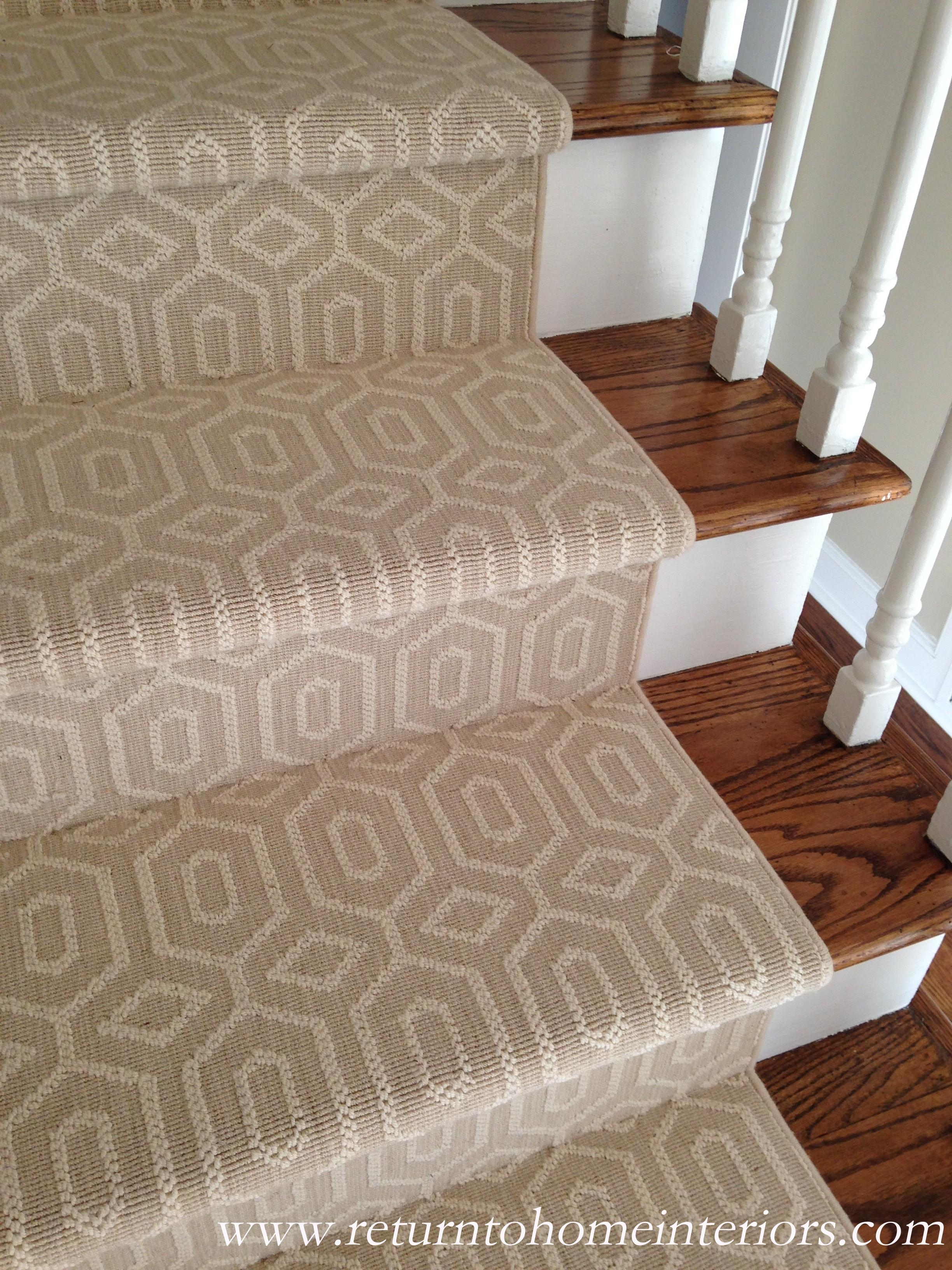 Choosing A Stair Runner Some Inspiration And Lessons Learned Within Stick On Carpet For Stairs (View 4 of 20)