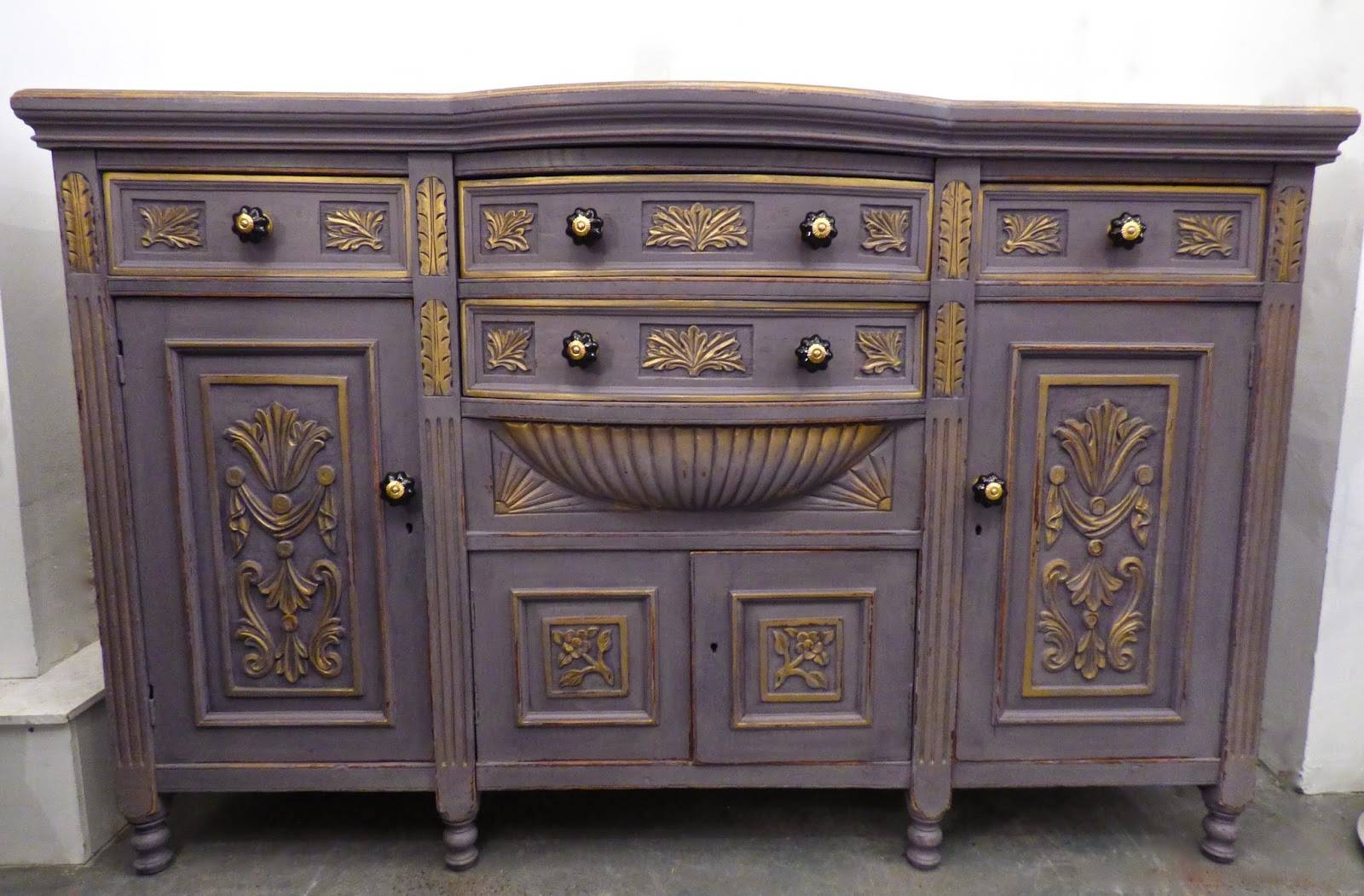Chouchou Vintage: Sideboard Intended For Purple Sideboard (#3 of 20)