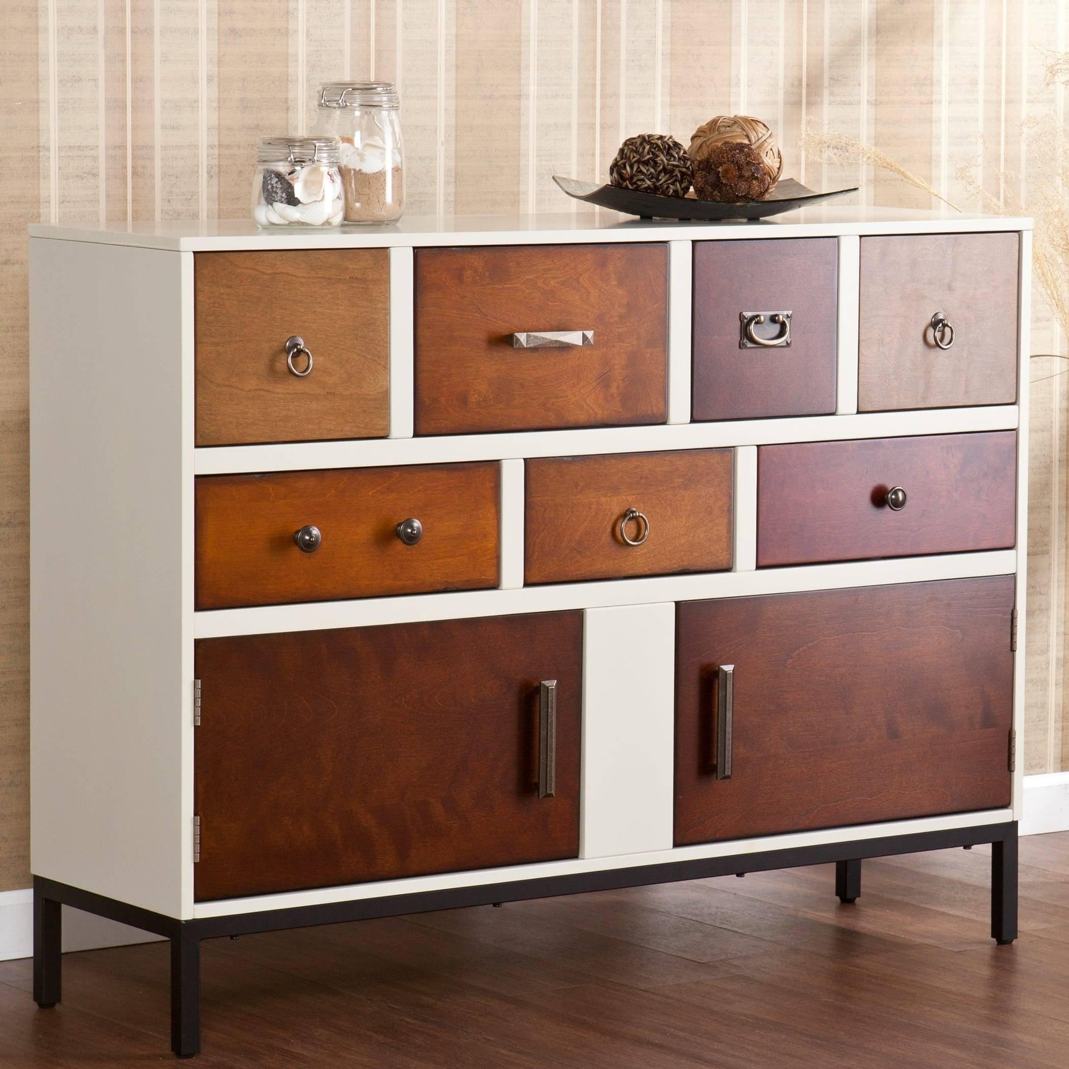 Christian Multi Finish Dining Room Buffet – Free Shipping Today Regarding Multi Drawer Sideboard (#11 of 20)