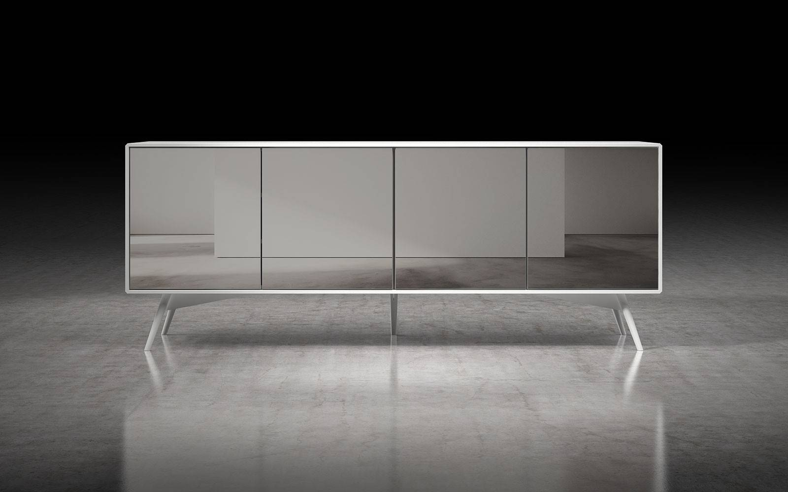 Christopher Sideboardmodloft | Modern Sideboards | Cressina Pertaining To White Glass Sideboard (View 18 of 20)