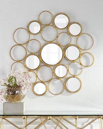 Popular Photo of Mirrors Circles For Walls