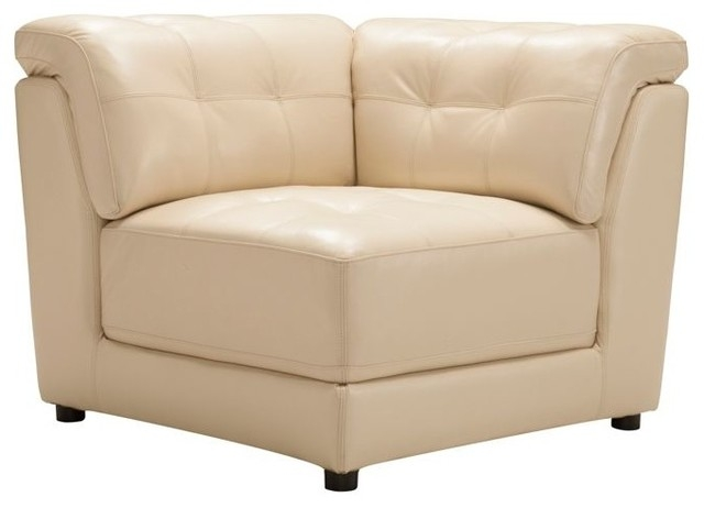 Clark Leather Modular Corner With Leather Modular Sectional Sofas (#5 of 15)