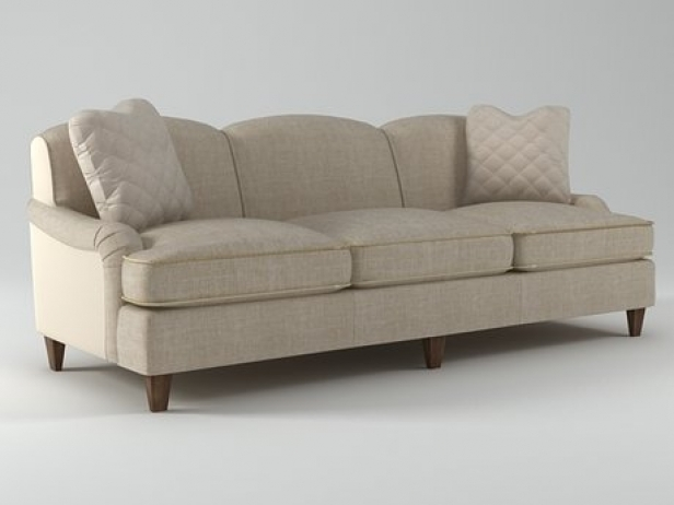 Classic English Sofa 6511 92 3d Model Baker Throughout Classic English Sofas (View 7 of 15)