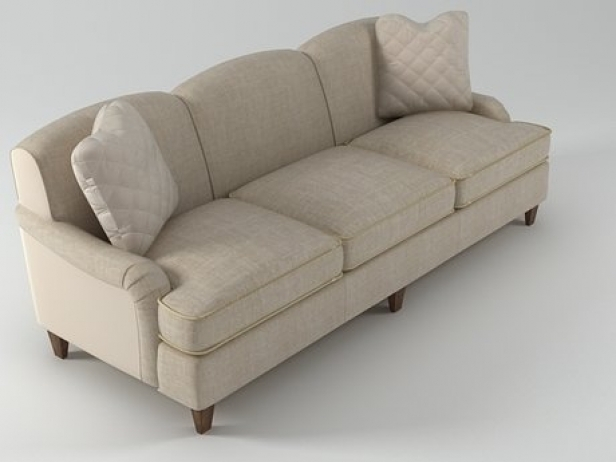 Classic English Sofa 6511 92 3d Model Baker Within Classic English Sofas (View 8 of 15)