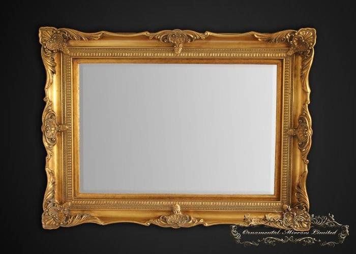 Inspiration about Classic Gold Ornate Mirror From Ornamental Mirrors Limited With Regard To Gold Ornate Mirrors (#2 of 20)