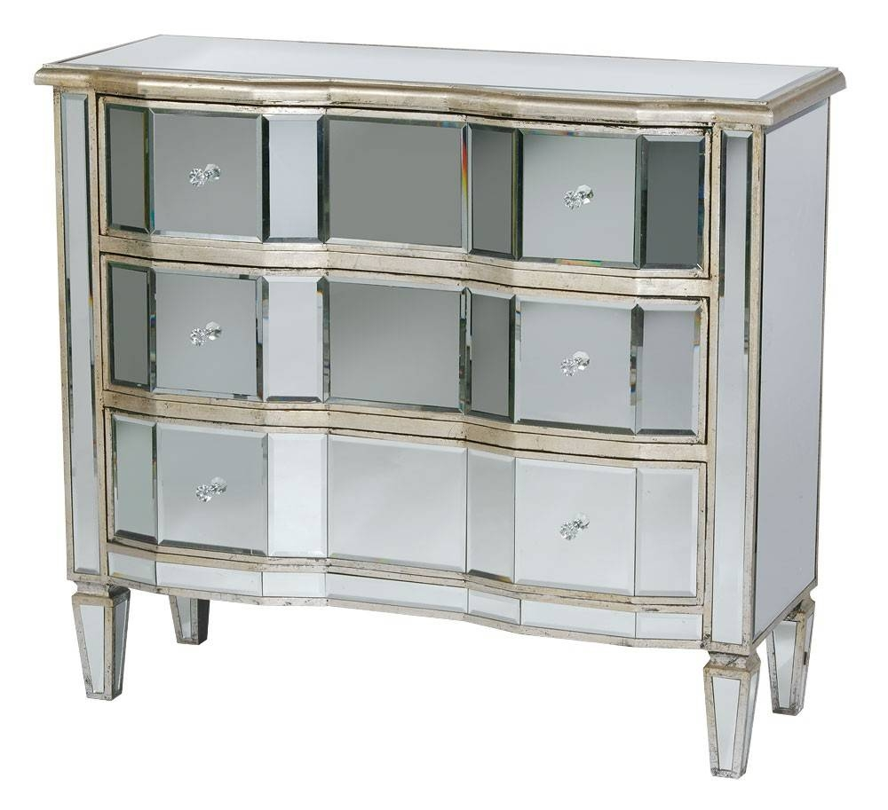 Classic Mirror Range – Forever Furnishings With Venetian Mirrored Sideboard (#2 of 20)