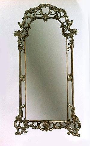 Classic Victorian Floor Mirror | Hallway In Victorian Standing Mirrors (#20 of 30)