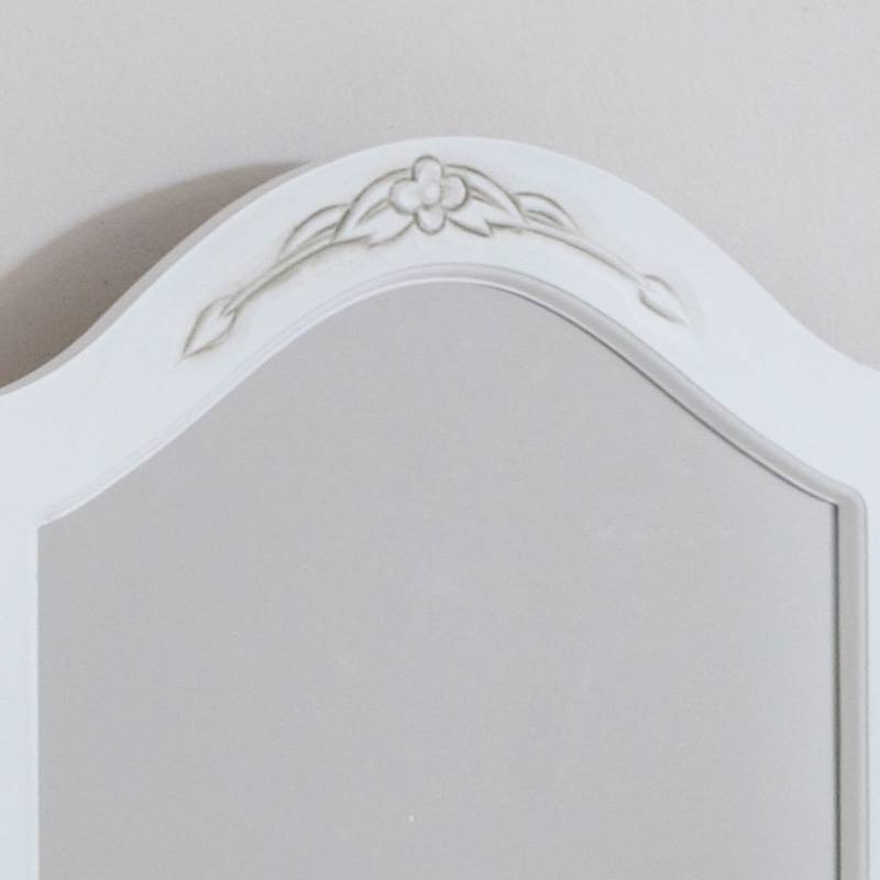 Classic White Triple Dressing Table Mirror – Melody Maison® With Regard To Dressing Table Mirrors (View 4 of 20)