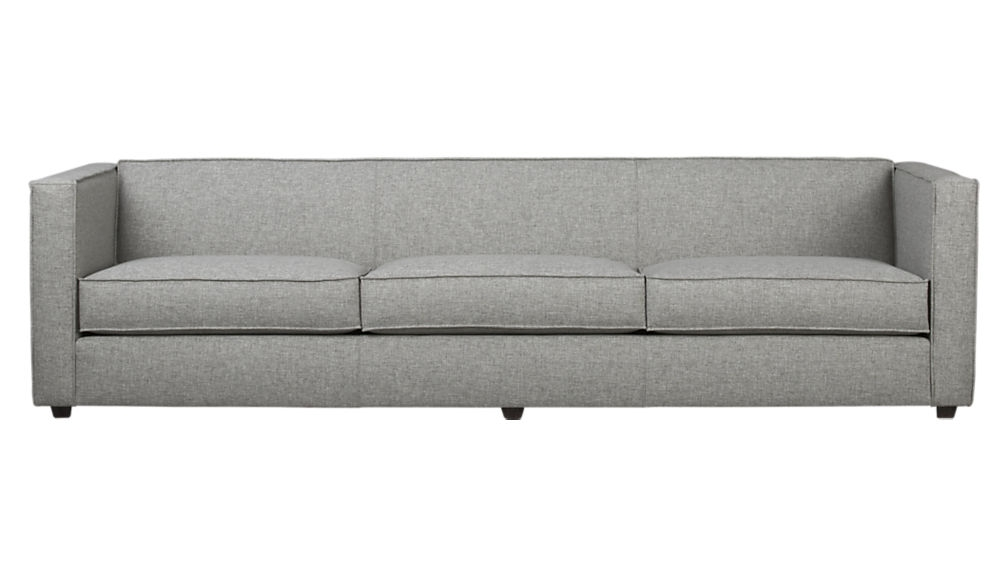 Club 3 Seater Sofa Cb2 For 3 Seater Sofas For Sale (View 4 of 15)