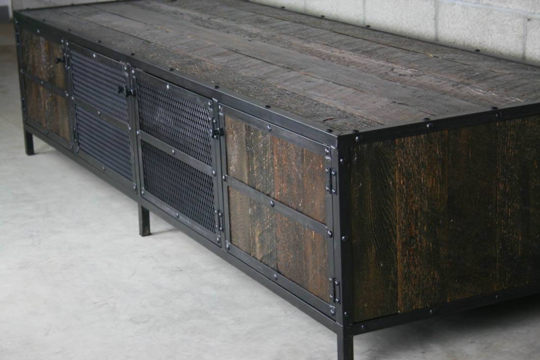 Combine 9 | Industrial Furniture With Regard To Metal Sideboards Furniture (#8 of 20)