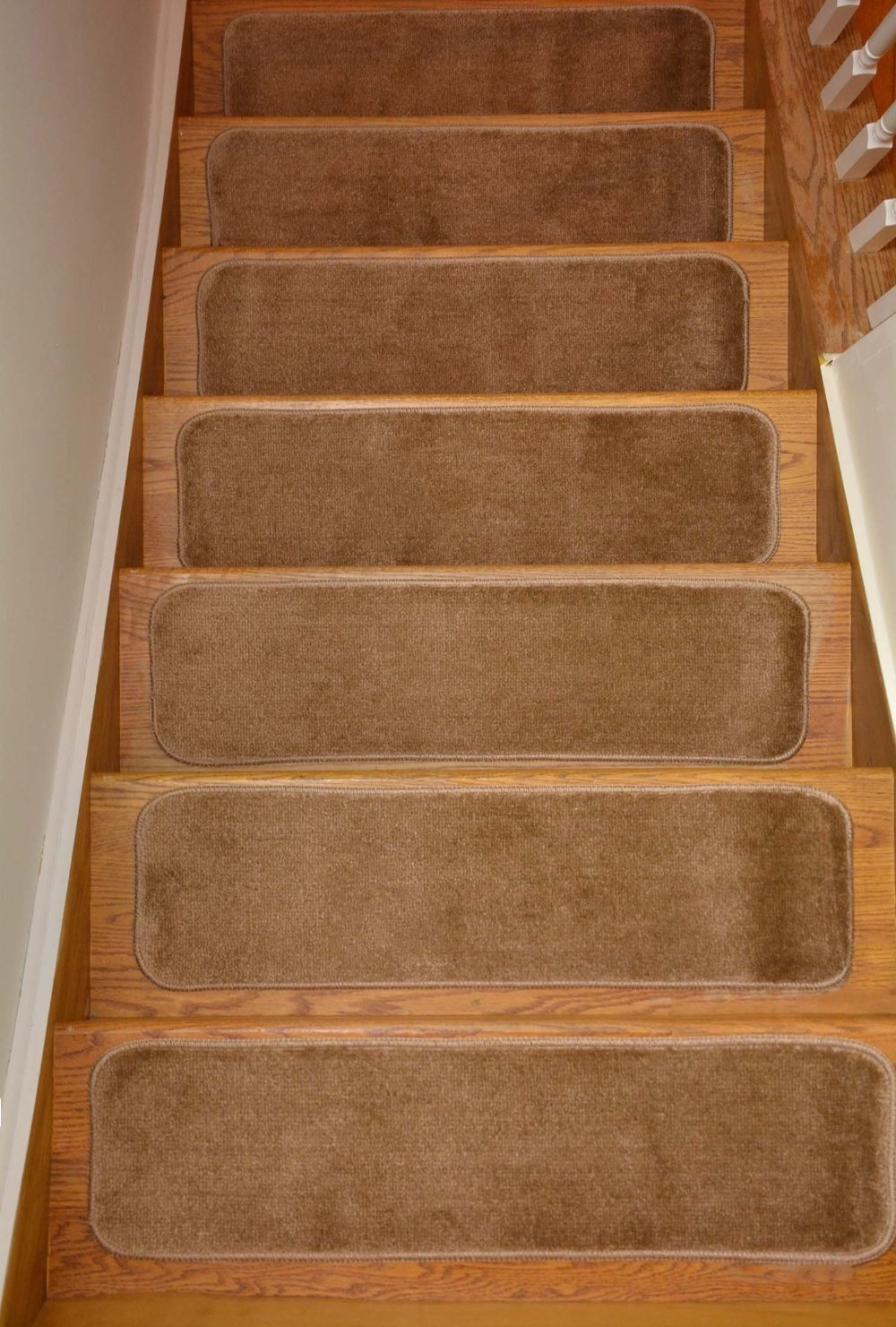 Comfy Stair Tread Treads Indoor Skid Slip Resistant Carpet Stair Within Skid Resistant Stair Treads (#6 of 20)