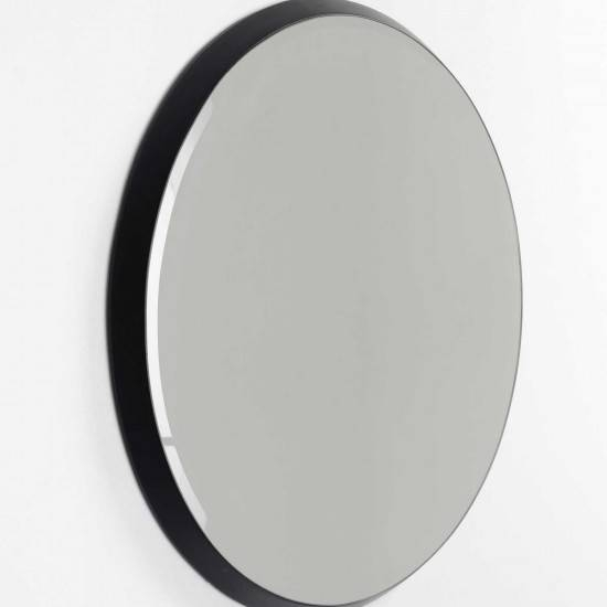 Comingb Black Oval Wall Mirror | Comingb Homeware | Beut.co (View 5 of 20)