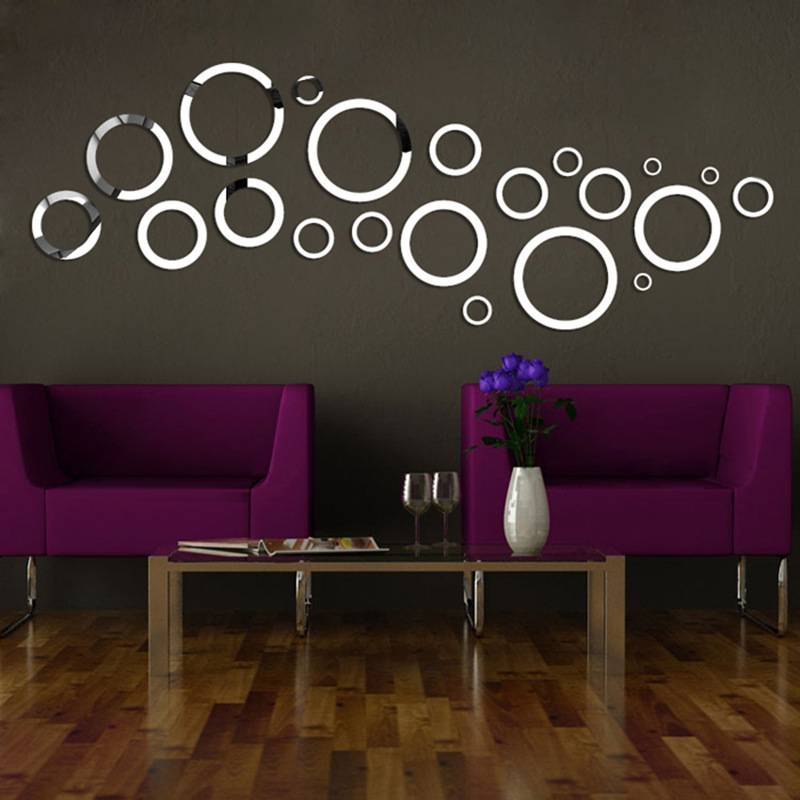 Compare Prices On Circle Wall Mirrors  Online Shopping/buy Low Intended For Mirrors Circles For Walls (#17 of 30)