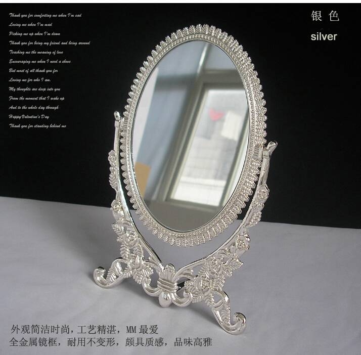 Compare Prices On Makeup Mirror Decoration  Online Shopping/buy Pertaining To Decorative Table Mirrors (View 7 of 30)