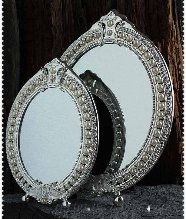 Compare Prices On Vintage Table Mirror  Online Shopping/buy Low Pertaining To Decorative Table Mirrors (View 9 of 30)