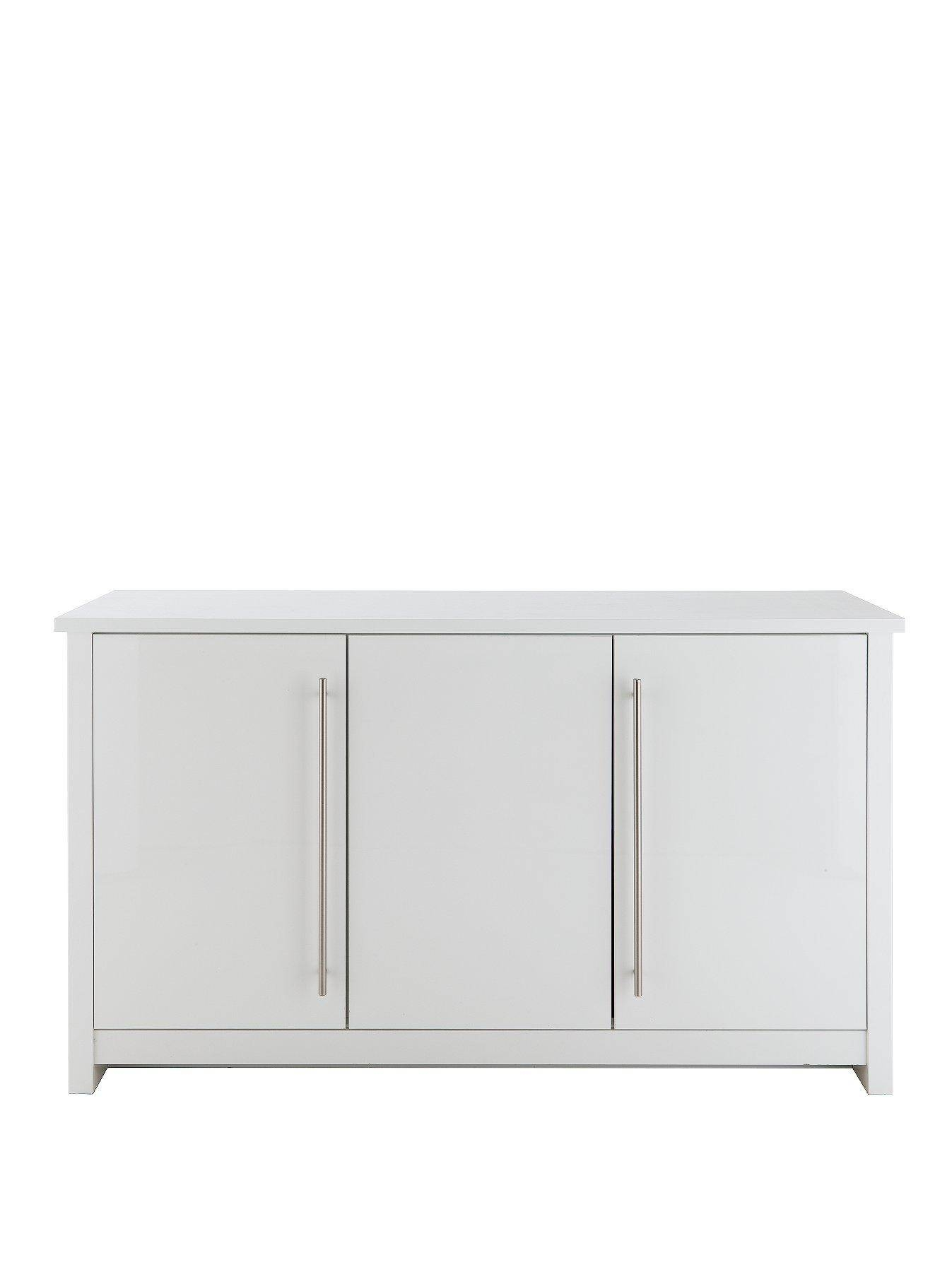 Consort Mono Ready Assembled Large Sideboard – Saleseeker Uk In Ready Assembled Sideboards (#8 of 20)