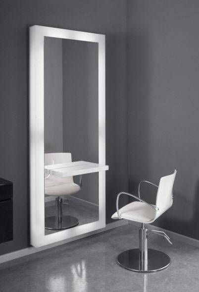 Contemporary Dressing Table / Plexiglas® / Wall Mounted / For Within Decorative Dressing Table Mirrors (#13 of 20)