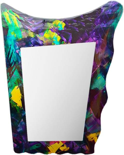 Contemporary Large Artistic Mirrors, Metal Art Mirrors With Large Artistic Mirrors (#12 of 15)