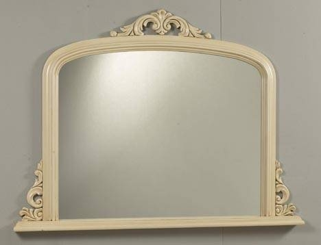 Contemporary Mantel Mirrors: Fusion Overmantle Mirror (#19 of 30)