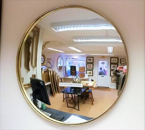 Contemporary Mirrors : Looking Glass Of Bath In Very Large Mirrors (#11 of 30)