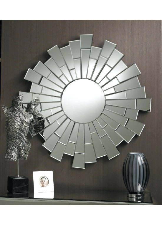 Contemporary Round Mirrors For Walls Bathroom – Shopwiz Intended For Contemporary Round Mirrors (View 13 of 20)