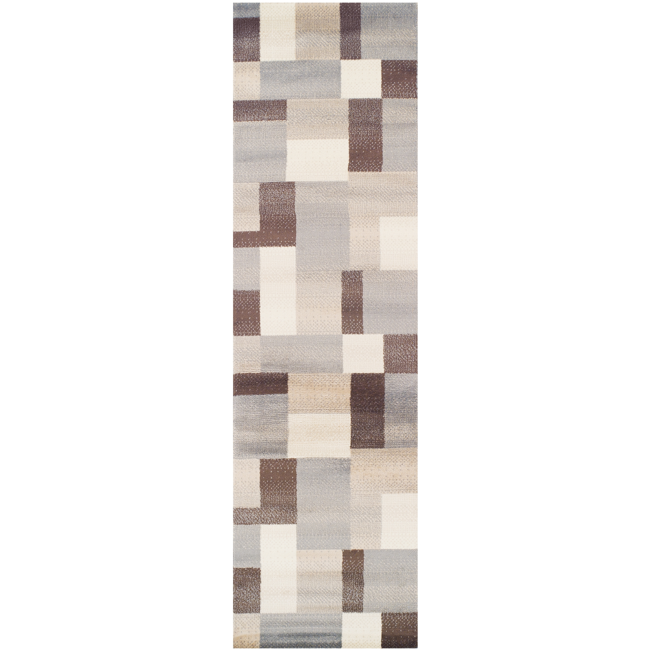 Runner rugs safavieh four seasons wonderland 2foot x 3foot for Contemporary runner rugs for hallway