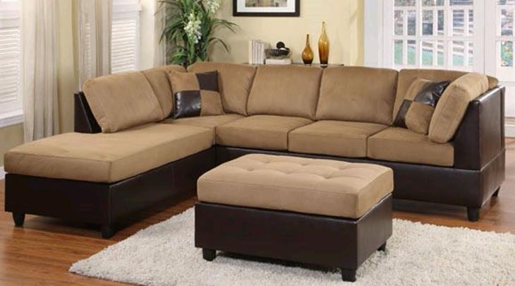 Contemporary Sectional Sofa Timeless Furnishings Bakersfield Pertaining To Sectinal Sofas (View 7 of 15)