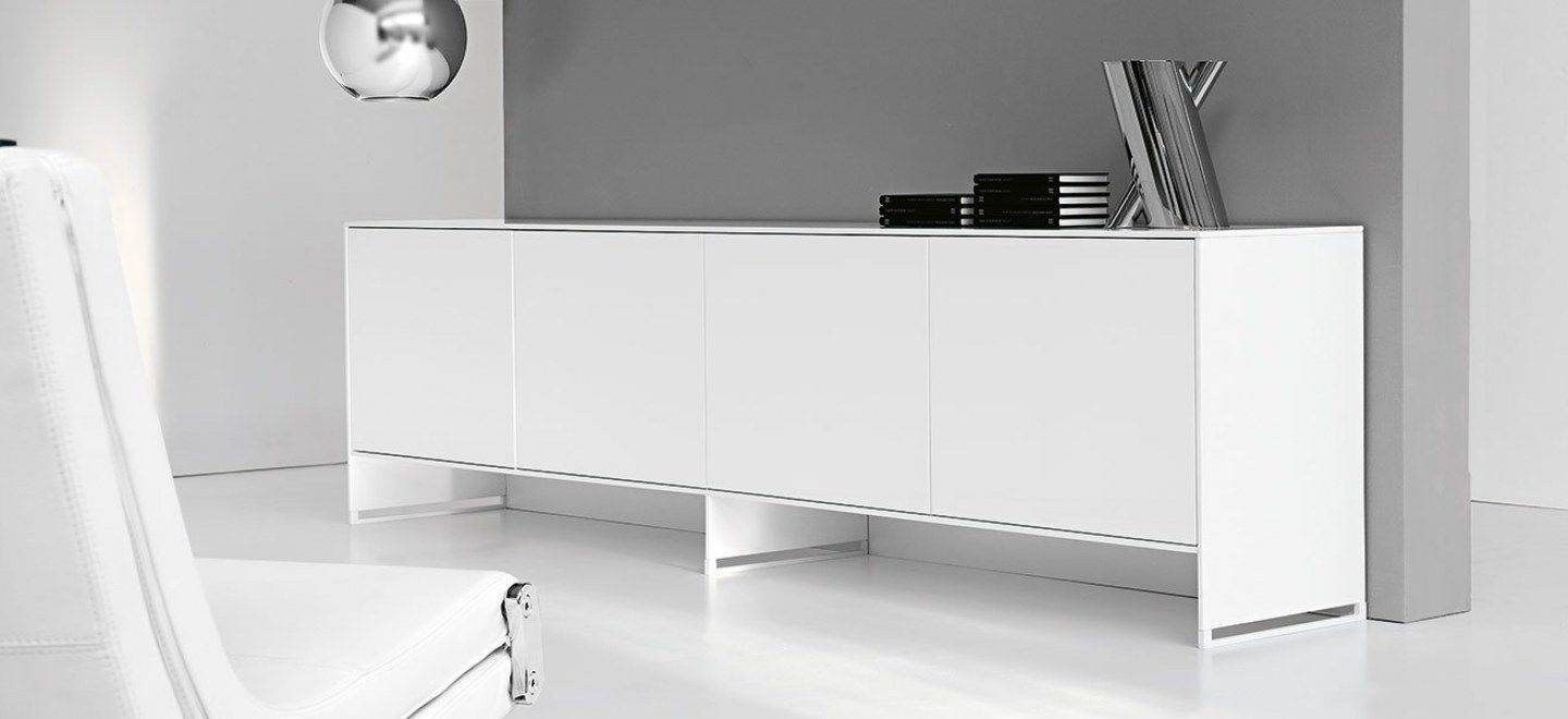 Contemporary Sideboard / Lacquered Wood / Oak / Walnut – Oasis Inside Sideboard White Wood (View 4 of 20)