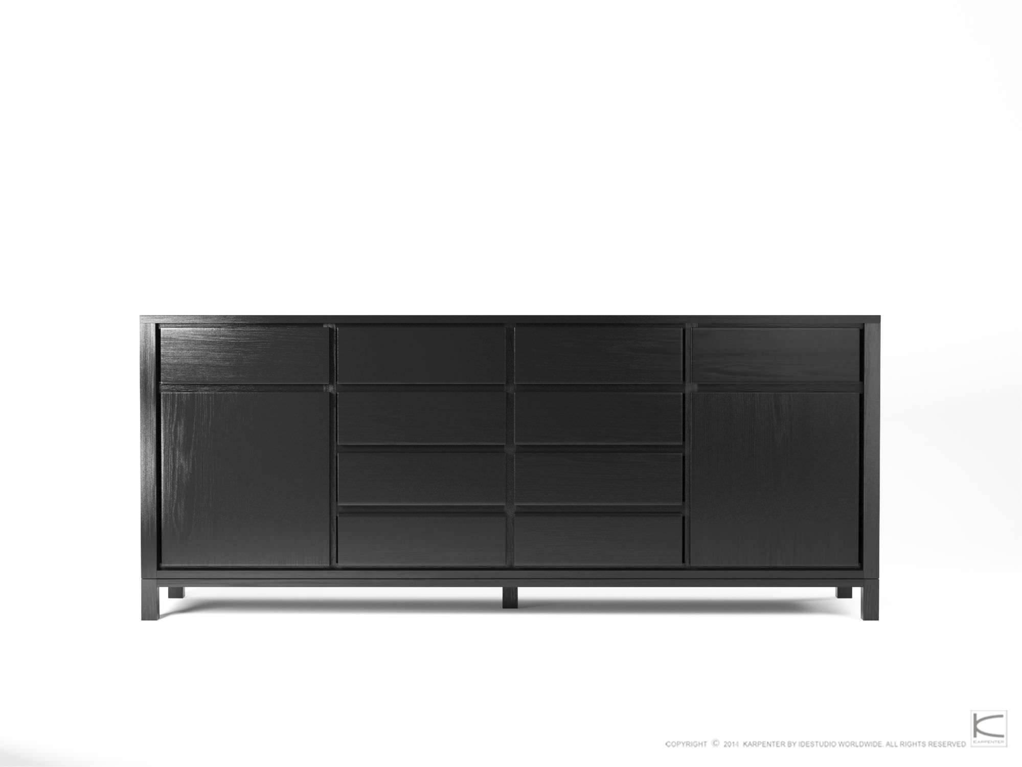 Popular Photo of Black Wood Sideboard
