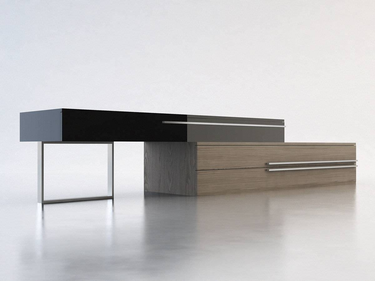 Contemporary Sideboard / Wooden / Lacquered Wood – Gramercy – Modloft Throughout Contemporary Sideboard Cabinet (View 20 of 20)