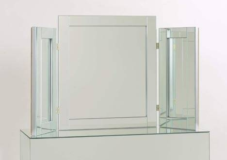 Contemporary Table Mirrors In Design With Regard To Triple Mirrors (#9 of 30)