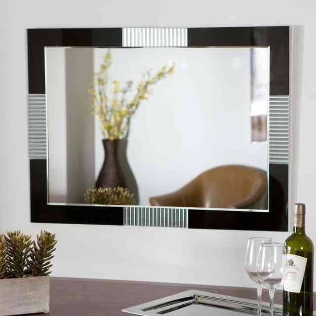 Contemporary Wall Mirrors Decorative Amazing : Create Contemporary In Large Modern Mirrors (#7 of 20)