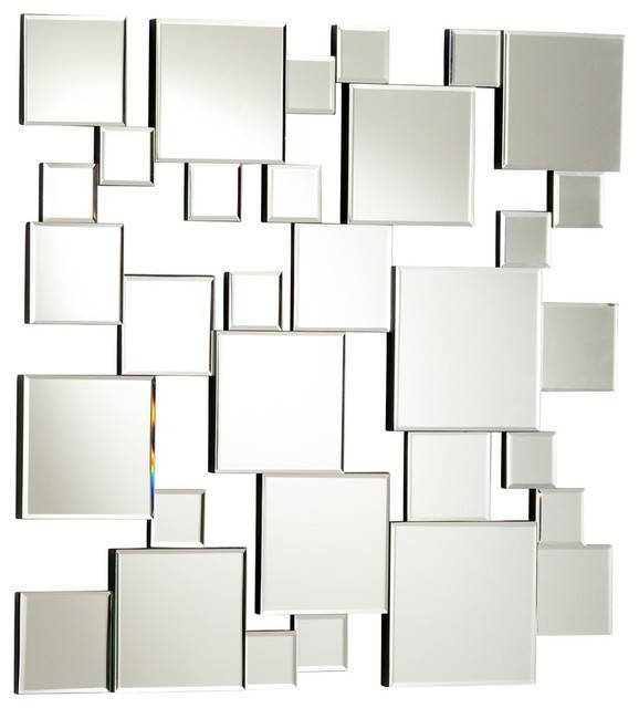 Contemporary Wall Mirrors Decorative Amazing : Create Contemporary Inside Contemporary Wall Mirrors (#7 of 20)