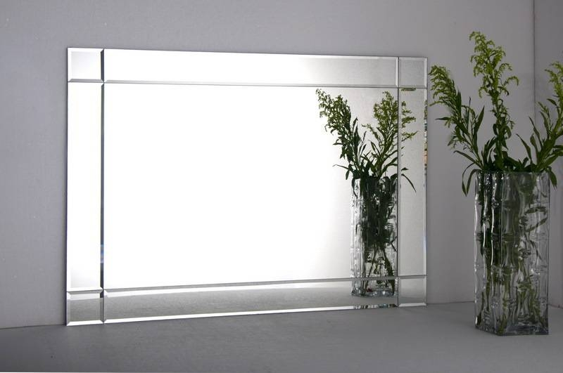 Contemporary Wall Mirrors Decorative Large : Create Contemporary With Large Modern Mirrors (#8 of 20)