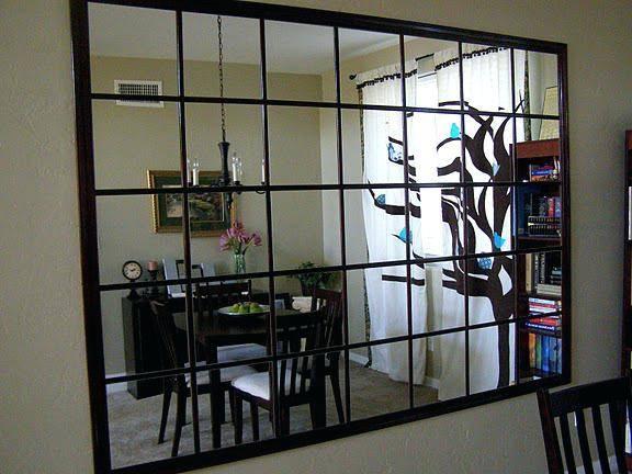 Contemporary Wall Mirrors Decorative Small Createbig Square Mirror With Regard To Large Square Mirrors (#12 of 30)