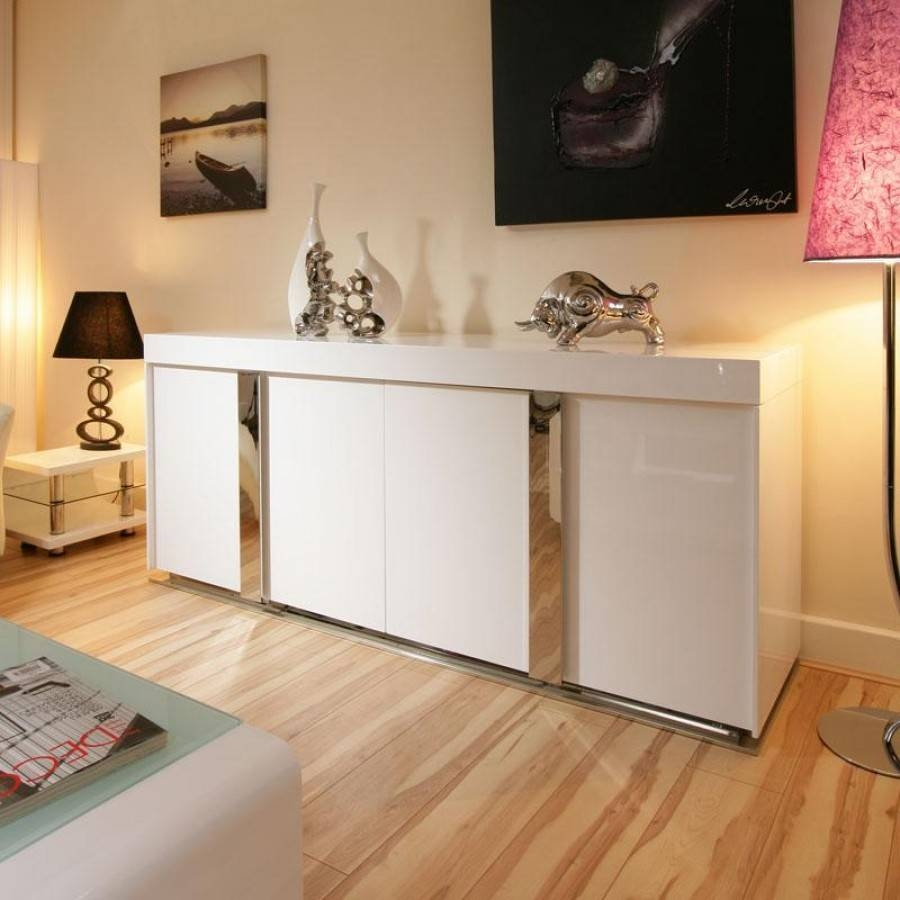Contemporary White Sideboard Cabinet — New Decoration : Mid Throughout Contemporary Sideboard Cabinet (View 19 of 20)