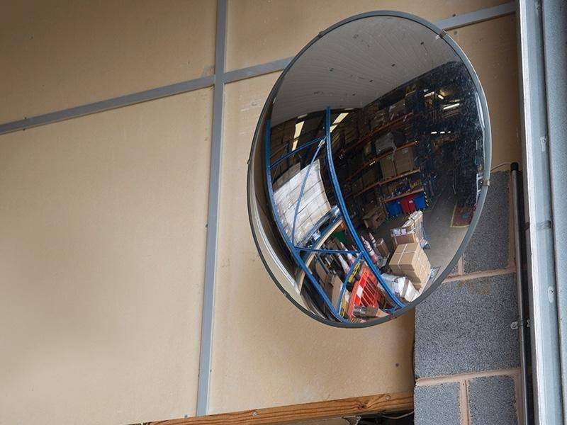 Convex And Security Mirrors – The Workplace Depot In Large Round Convex Mirrors (#12 of 30)
