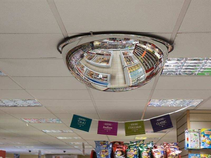 Convex And Security Mirrors – The Workplace Depot Inside Shopping Mirrors (#9 of 30)