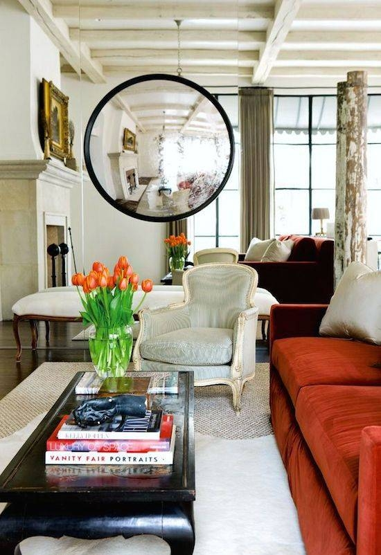 Convex Mirror | Wall Decor | Home Design | Interior Ideas Throughout Convex Wall Mirrors (#14 of 30)