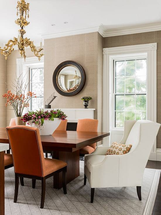 Convex Mirror | Wall Decor | Home Design | Interior Ideas With Round Convex Wall Mirrors (#19 of 30)