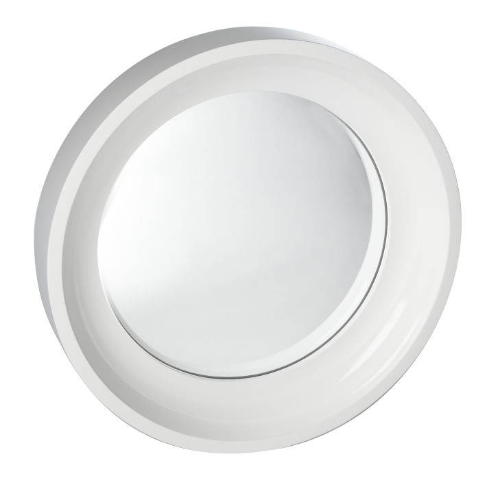 Convex Mirrors | West Elm For White Convex Mirrors (#11 of 30)